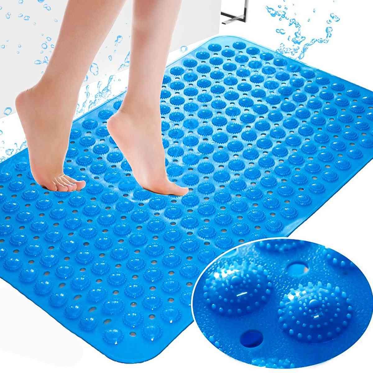 Pvc Massage Particles Foot Pad Large Strong Suction Anti Slip Bathroom Mat - Anti Slip Bath Shower Mat Odorless Non Toxic Bath Mat