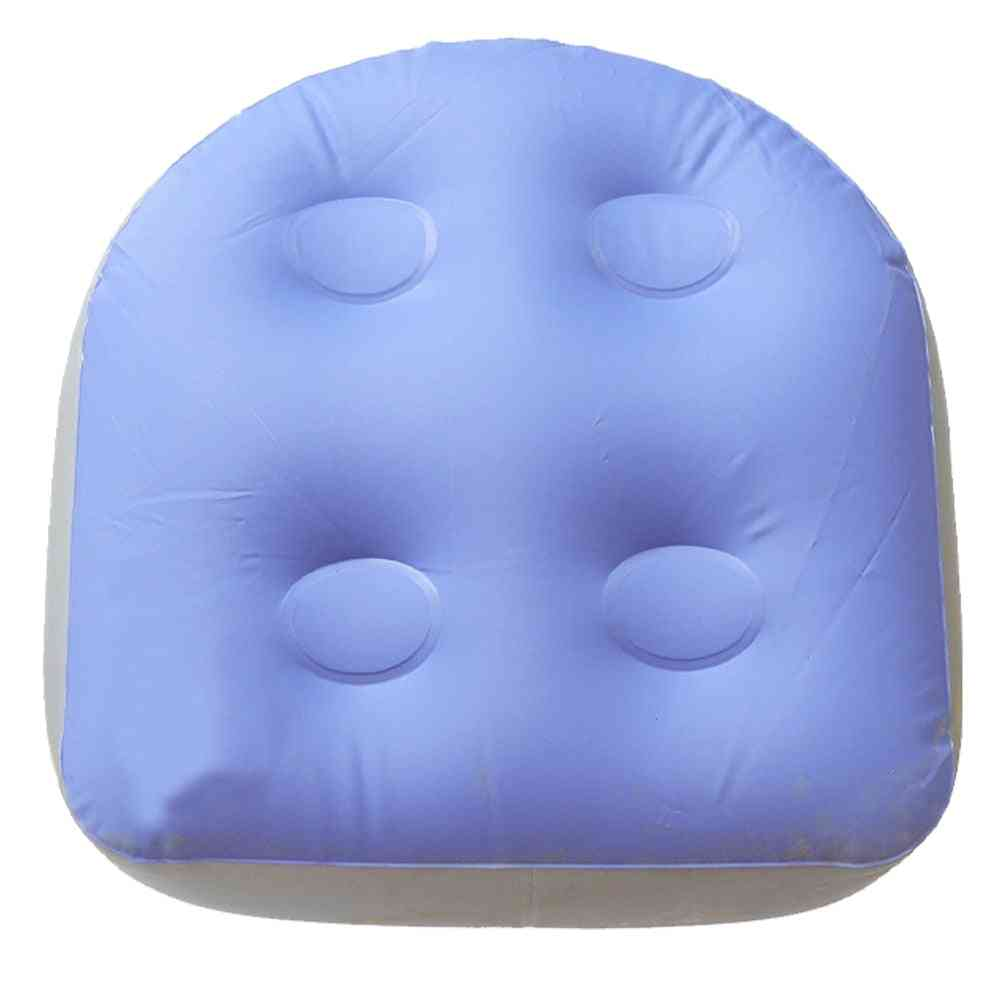 Heavy-duty Comfortable Inflatable Relaxing Booster Seat Back Hot Tub Pad Massage Mat