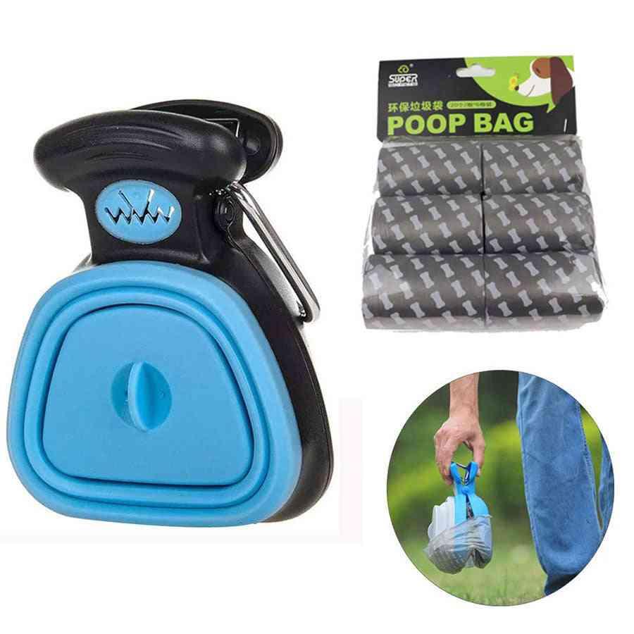 Foldable Dog Poop Bag Dispenser, Animal Waste Picker