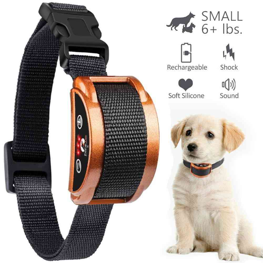 Effective & Upgraded Lightweight Rechargeable Dog Bark Safety Collar