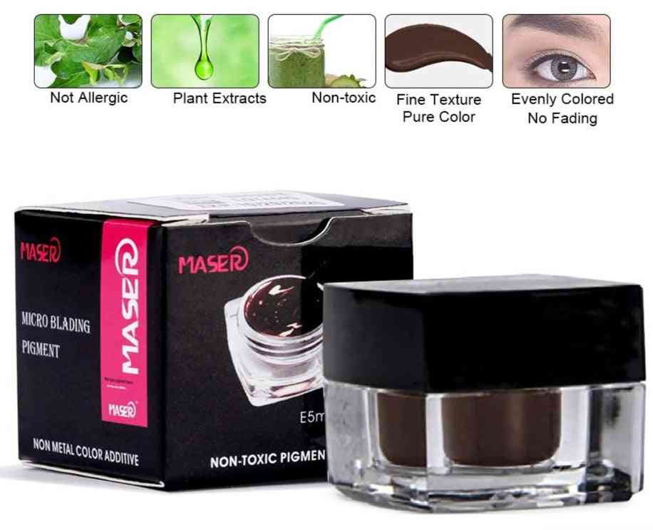 Tattoo Color Microblading Pigment Inks For Lip Eyeline Permanent Makeup - Microblading Eyebrown Pen Tattoo Ink Accessory
