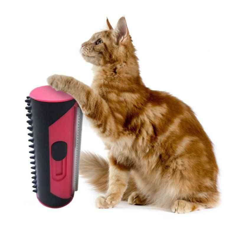 Dog/cat Puppy Hair Remover Lint Rolling Brush & Sofa Carpet Cleaning Comb