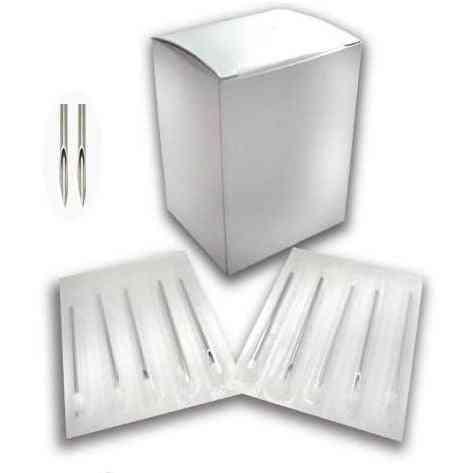 Disposable Piercing Aiguilles Mixte - Jetable Piercing Aiguilles Pour Ear, Nose Nombri