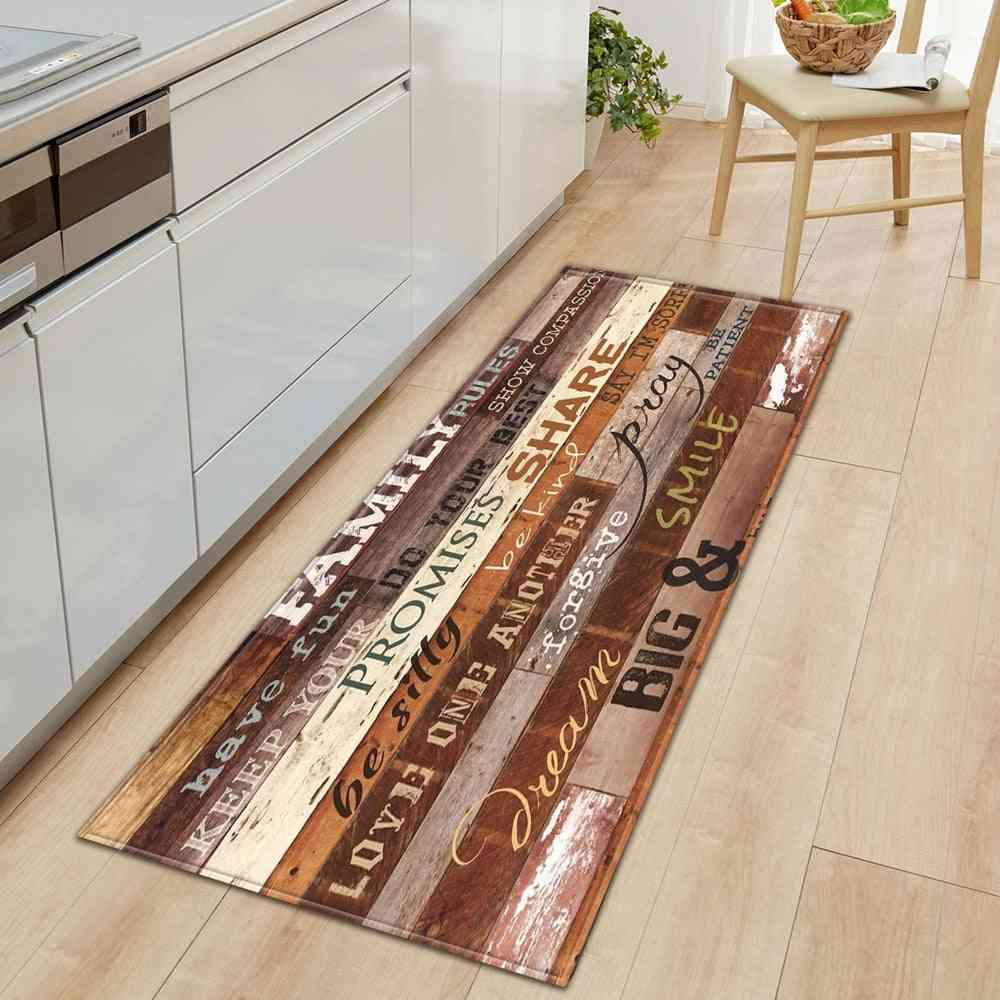 Nordic Anti-static Durable Kitchen Mat - Bedroom Entrance Doormat, Home, Living Room Carpet
