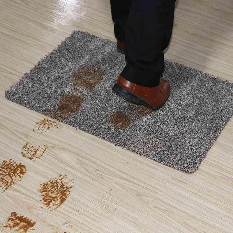 Indoor Super Absorbs Doormat Latex Backing Non-slip Door Mat - Inside Floor Dirt Trapper Cotton Entrance Rug