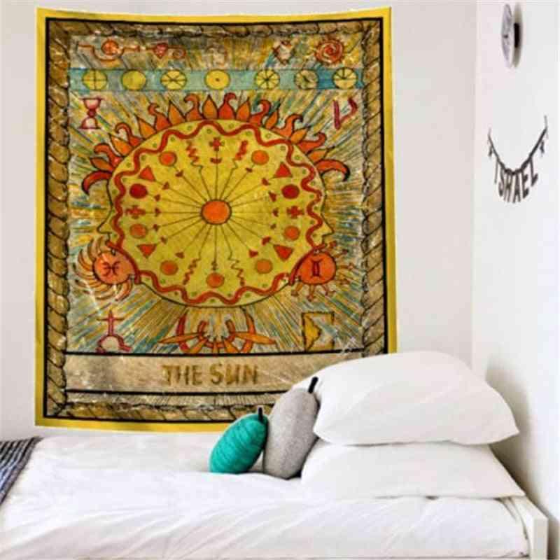 Mandala Tarot Wall Hanging Bedroom Decor Tapestry