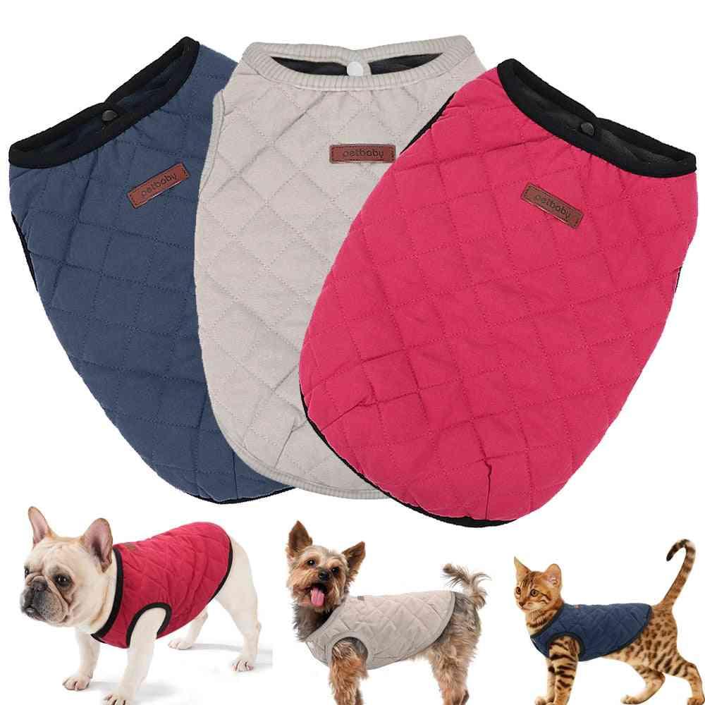 Winter Coat , Jacket For Pet - French Bulldog, Chihuahua Dog Clothes