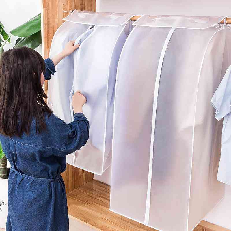 Dust Cover ,dust Proof , Waterproof Suit Coat Protector Storage Bag For Clothes - Hanging Organizer Wardrobe