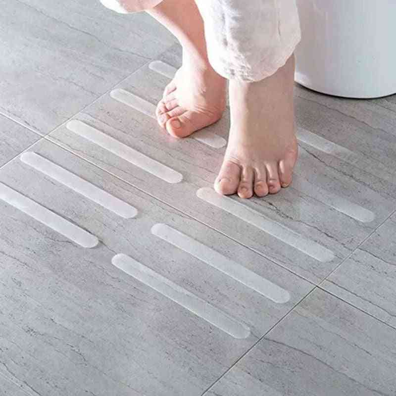 Anti Slip Bathroom Shower Stickers - Practical And Transparent Non-slip Safety Strips Mat