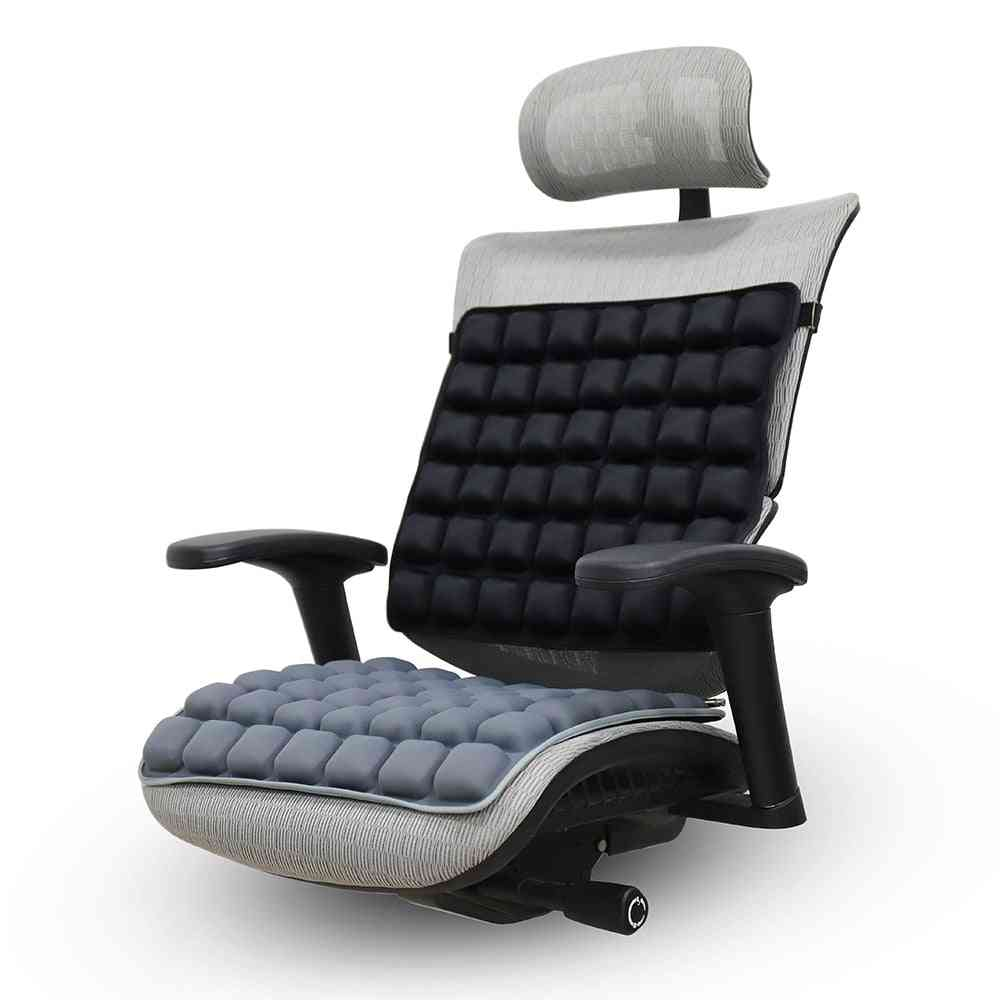 3d Soft Breathable Airbag Relaxation Decompression Massage Cushion For Home, Office, Car, Chair