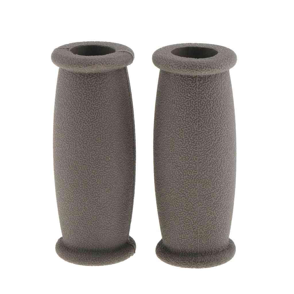 Soft Rubber Crutch , Walker Hand Grip Covers Pad - Cushion, Anti Silp Crutch Handle