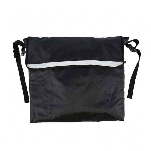 Wheelchair Backpack, Bag Black - Great Accessory Pack, Mobility Device, Fits Most Scooters, Walkers