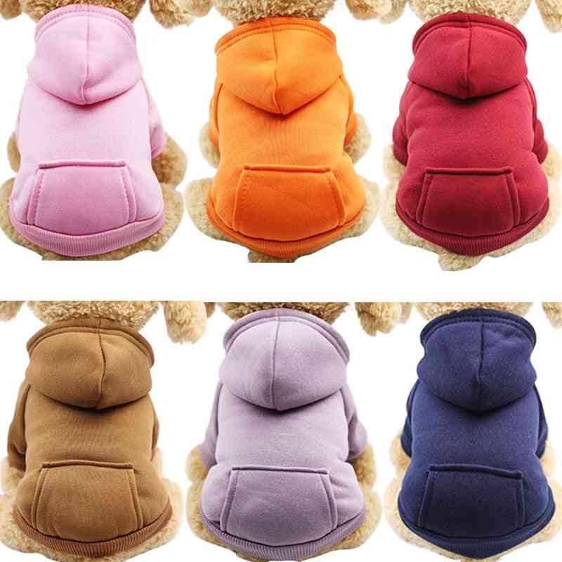Warm Clothes, Hoodies, Coat For Small & Large Dog - Winter Outfit For Puppy