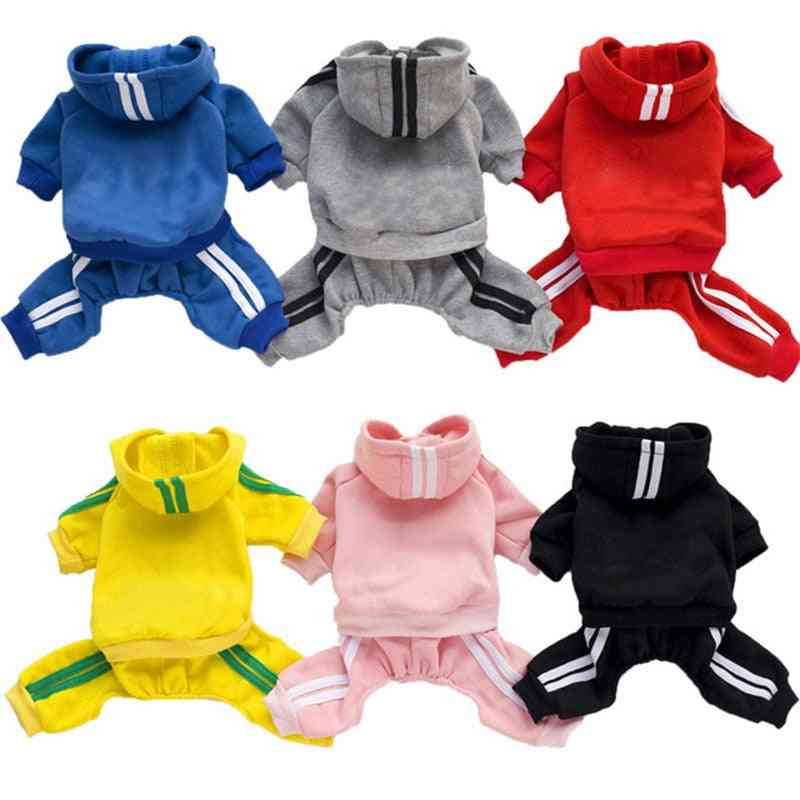 Overalls Pet Jumpsuit, Coats & Jackets For Small Medium Dog - Spring Outfit