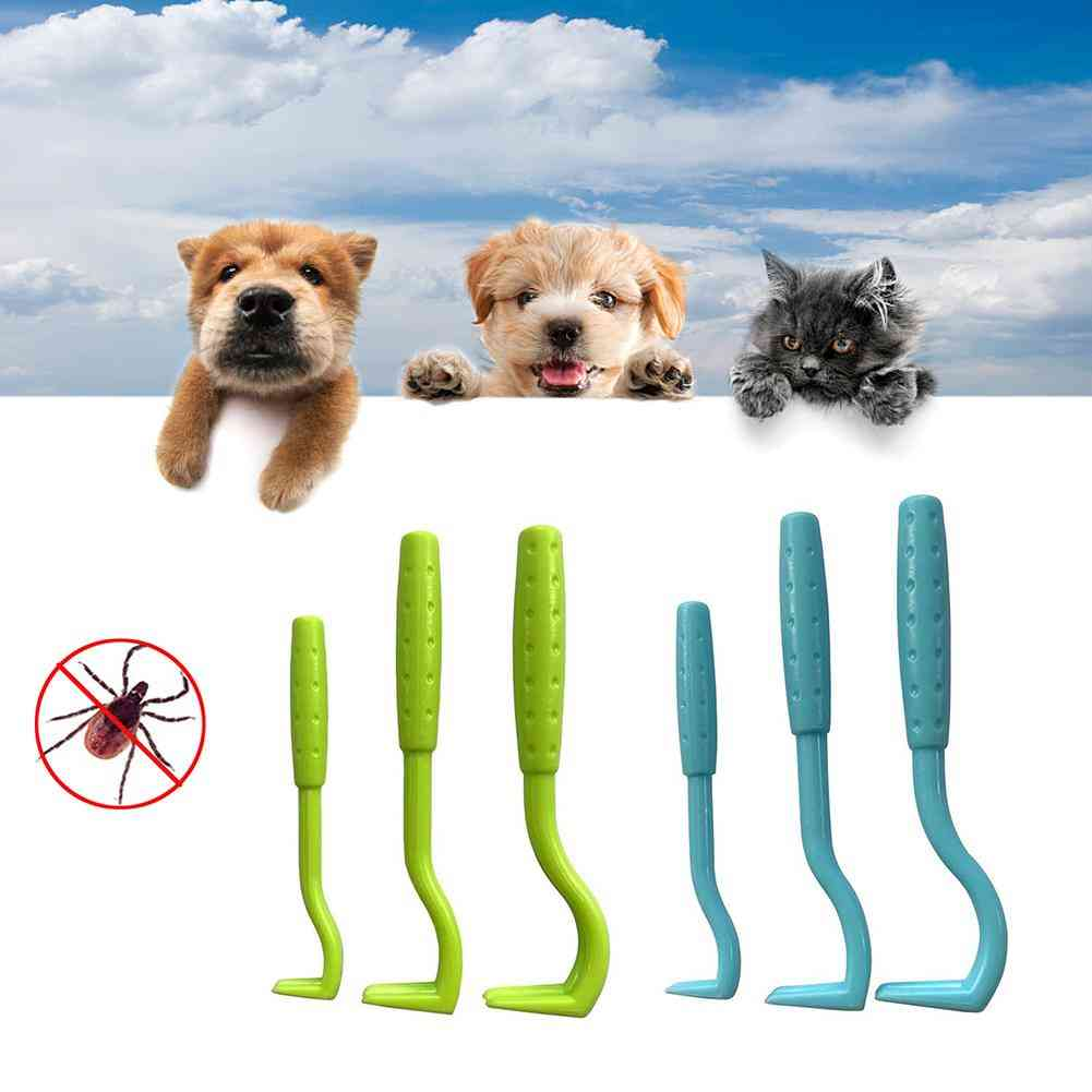 Pet Flea Remover Tool - Scratching Hook Remover For Cat Dog Grooming