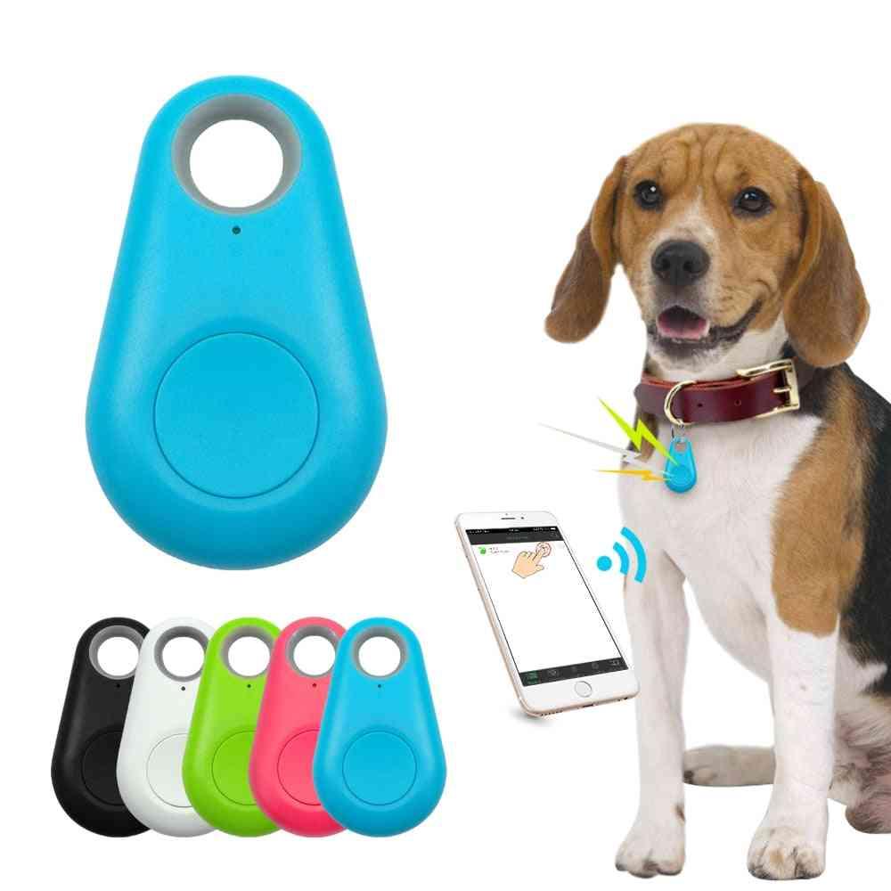 Waterproof Mini Anti Lost Smart Gps Tracker --bluetooth Locator For Pet Dog Cat