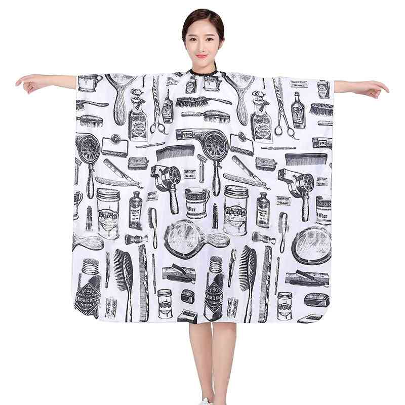Professional Hairdressing Cape Hair Cut Salon Barber Cloth Wrap -  Protect Gown Apron