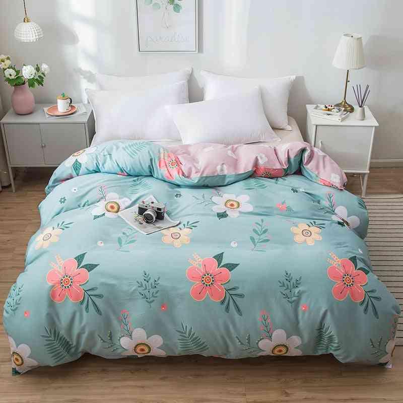 Ab Version Dual Sided Soft Comfortable Cotton Printing Duvet Cover & Sham