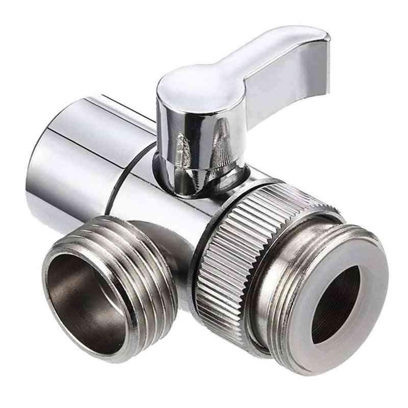 Water Tap Faucet Valve T Shape Diverter