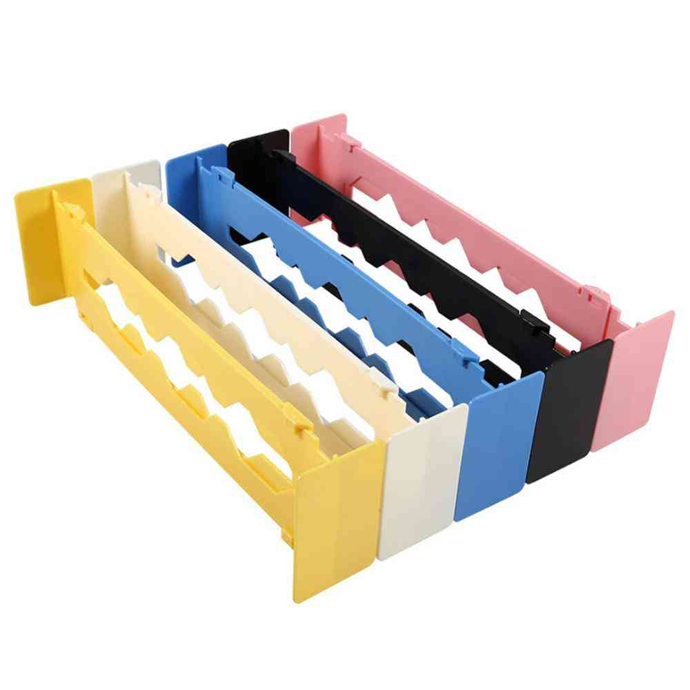 Drawer Separator And Dividers - Adjustable Wardrobe, Clapboard Partition Storage Organizer