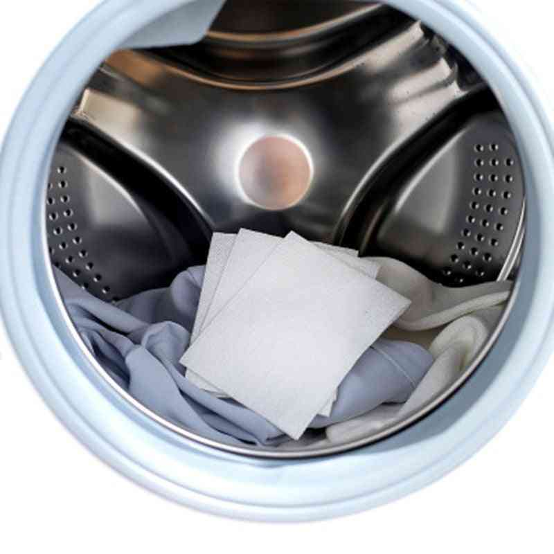 Washing Machine Use Mixed Dyeing Proof Color Absorption Sheet - Anti Dyed Cloth Laundry Papers, Balls & Discs