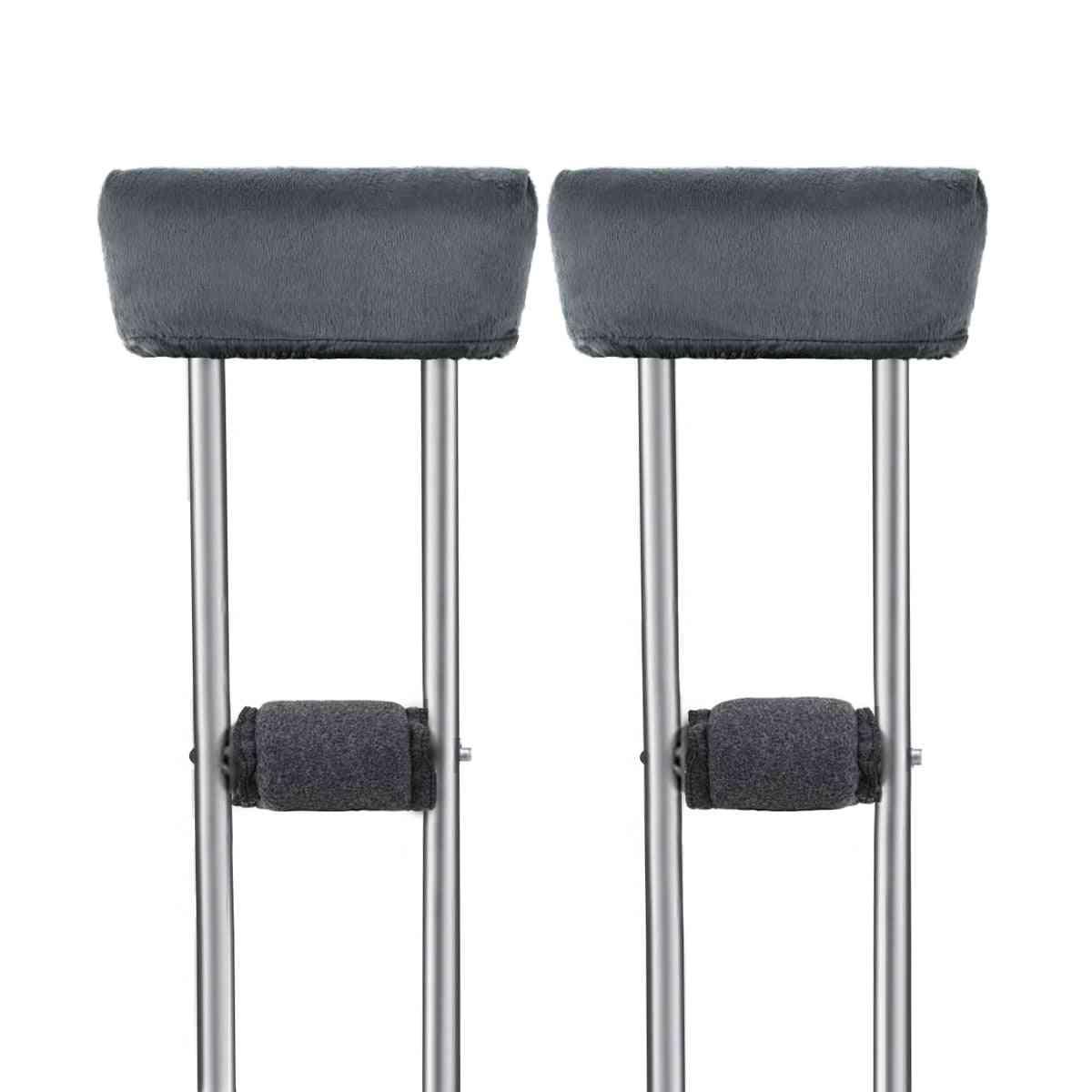 Universal Crutch Pads-underarm And Hand Grip Padding