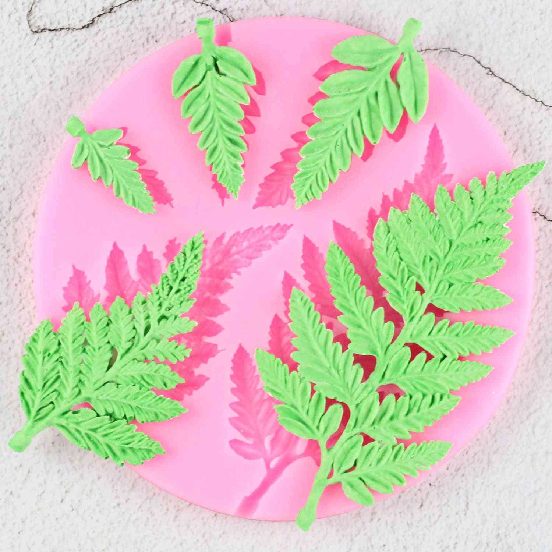 Sugarcraft Leaf Silicone Mold - Mimosa Fondant Mold, Diy Cake Decorating Tool