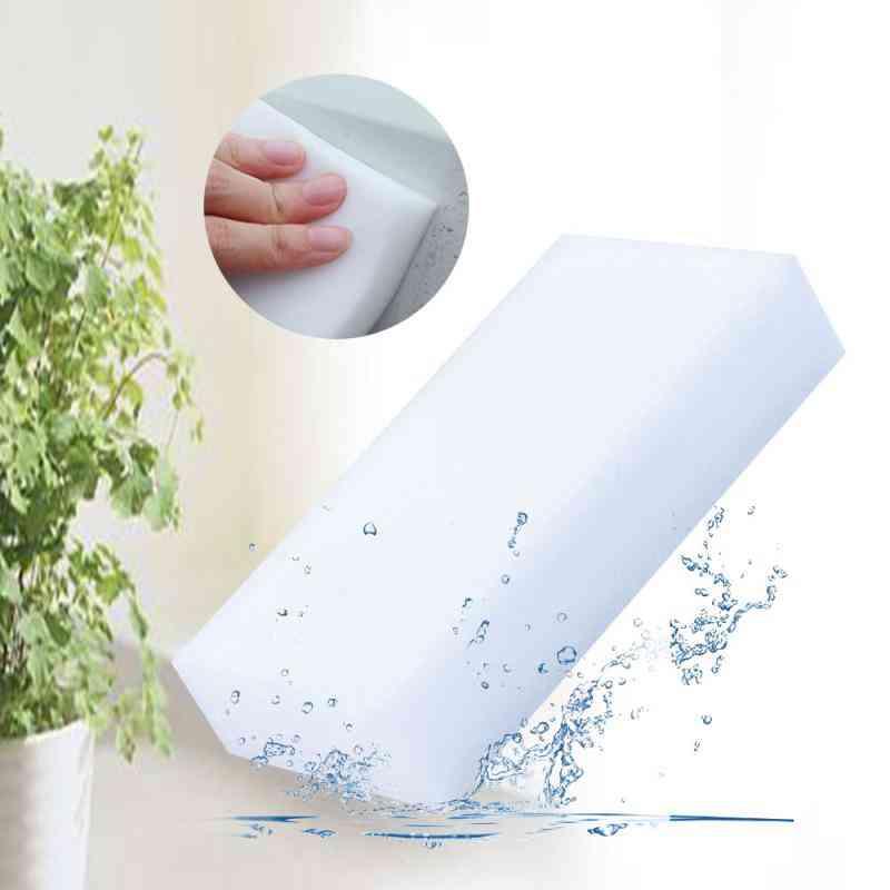 Melamine Magic Foam Sponge - Eraser Duster For Car, Dish Cleaning, Bathroom