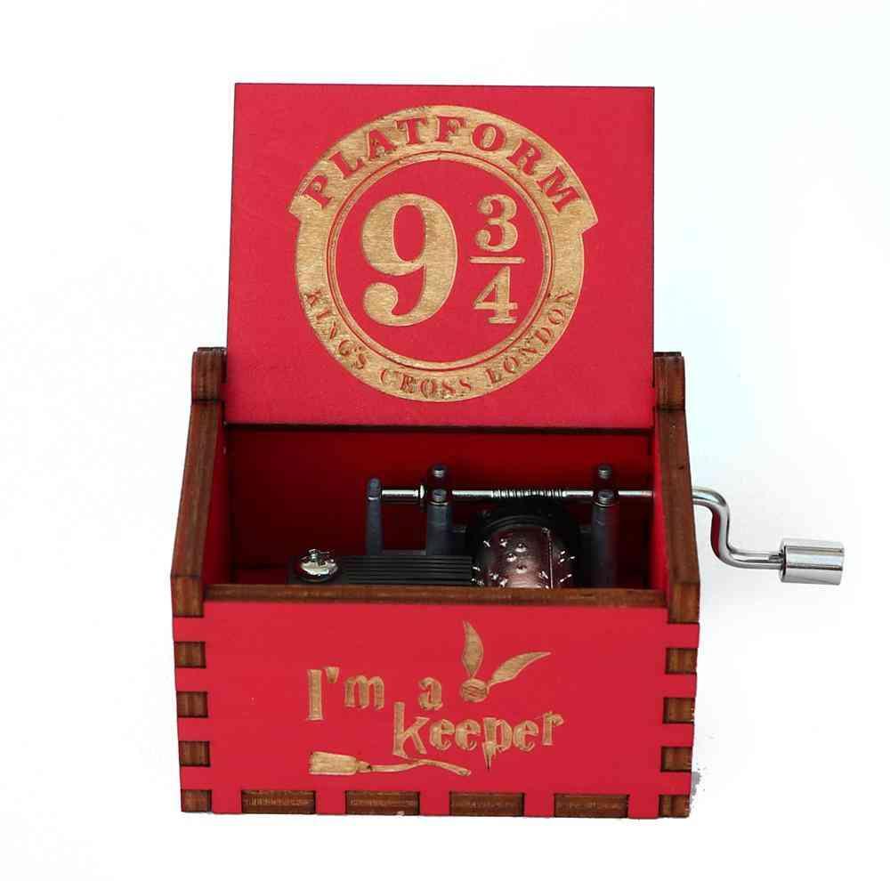 Harry Potter Collectible - Platform 9 3/4 King's Cross London-music Box