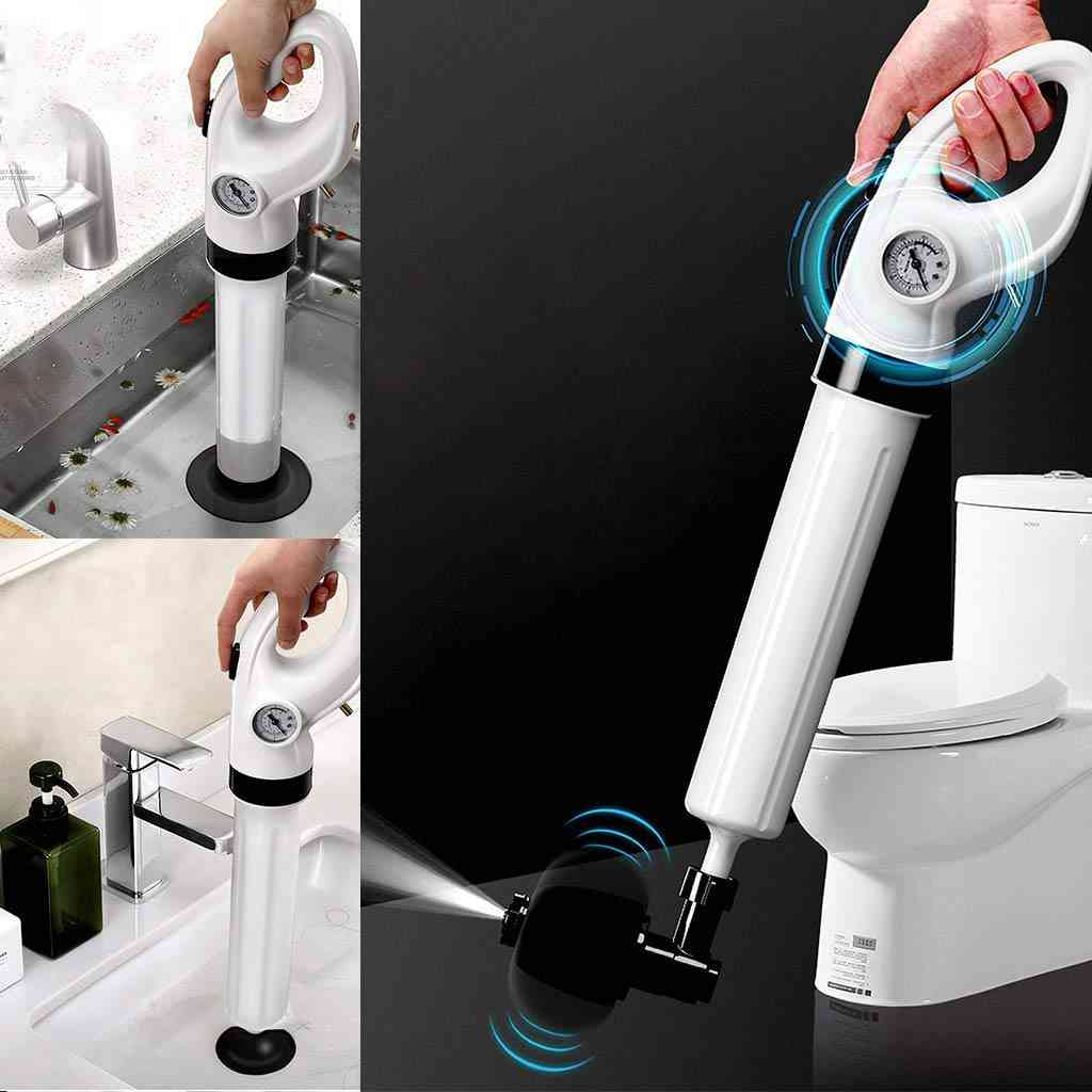 High Air Pressure, Drain Cleaning Tool For Toilet And Kitchen