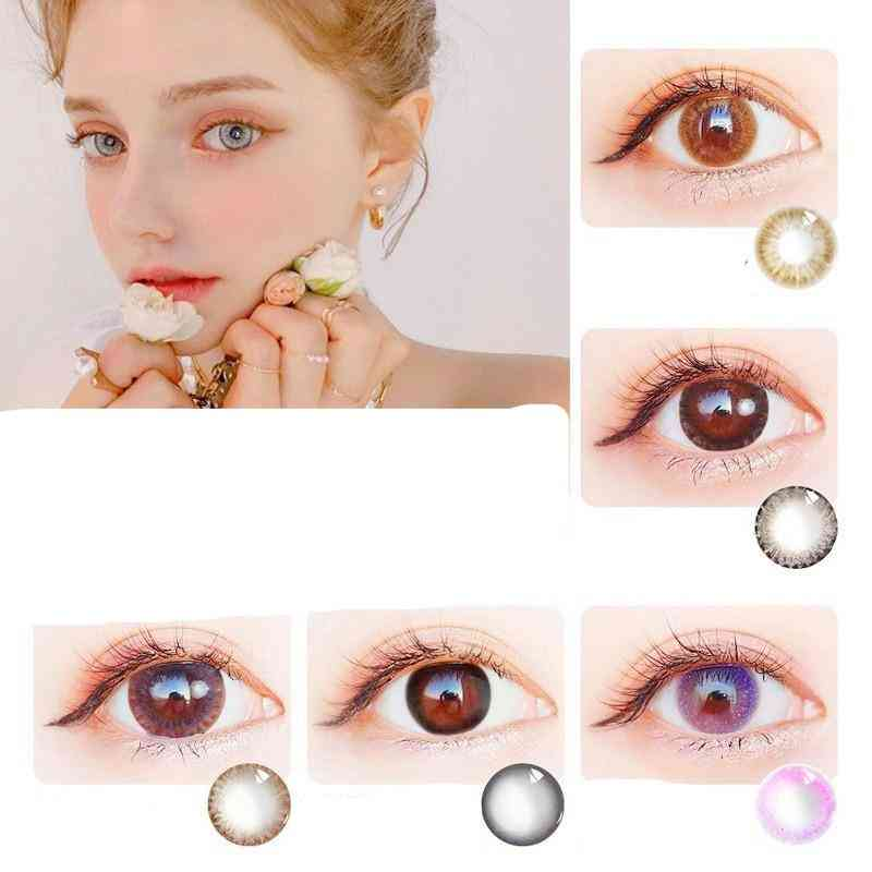 Girl Prescription Cosplay -beautiful Pupil Color Contact Lenses