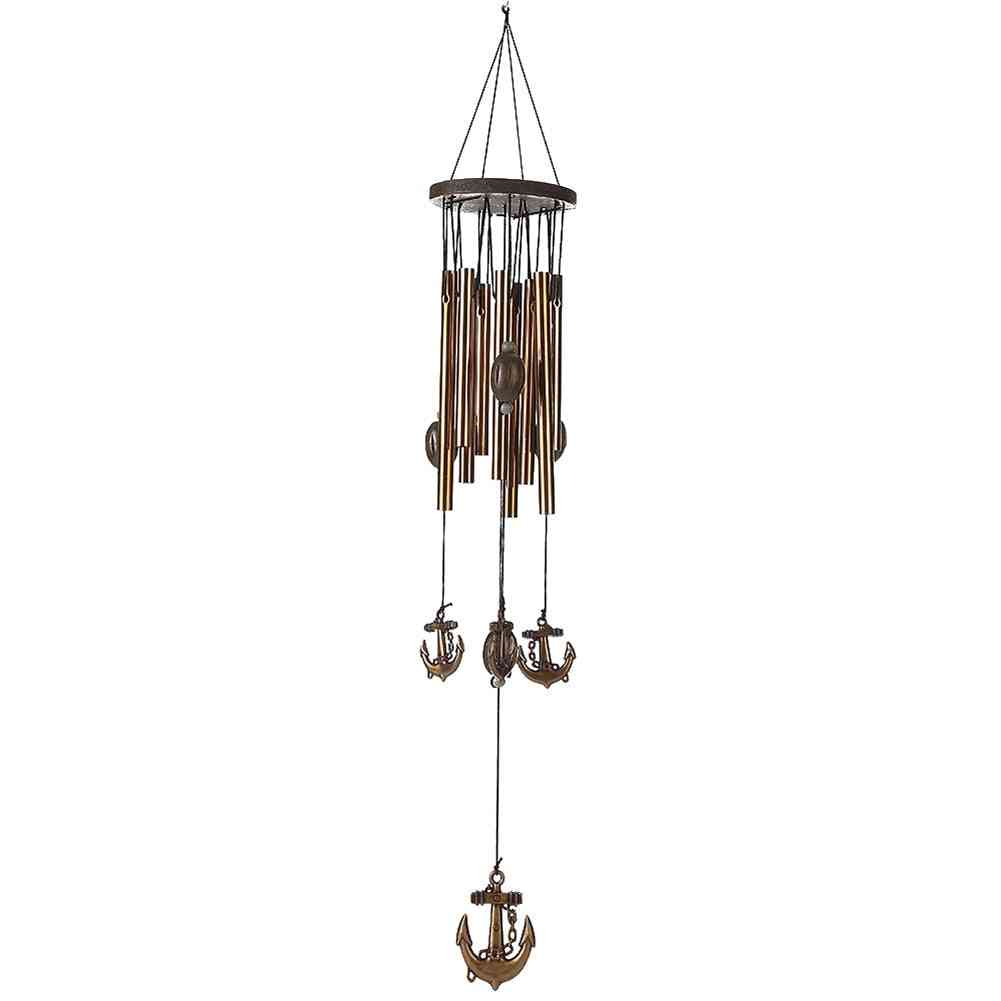 Antirust Copper Wind Chime 62cm - Living Room Metal Wind Chimes Outdoor Garden Decorations