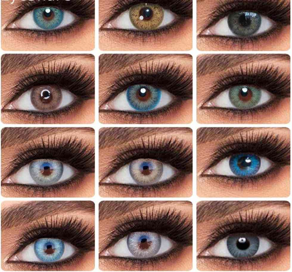 Colored Eye Contact Lenses- Yearly Use
