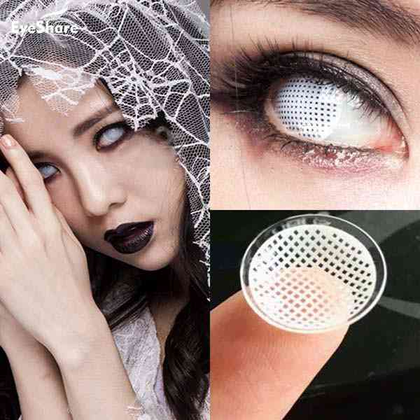Eyes Cosmetic Colored Contact Lens, Cosplay Contact Lenses For Halloween