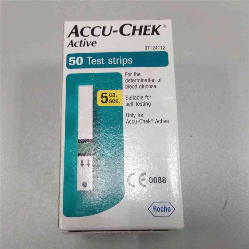 Accu Chek Active Test Strips (no Coding Chip)