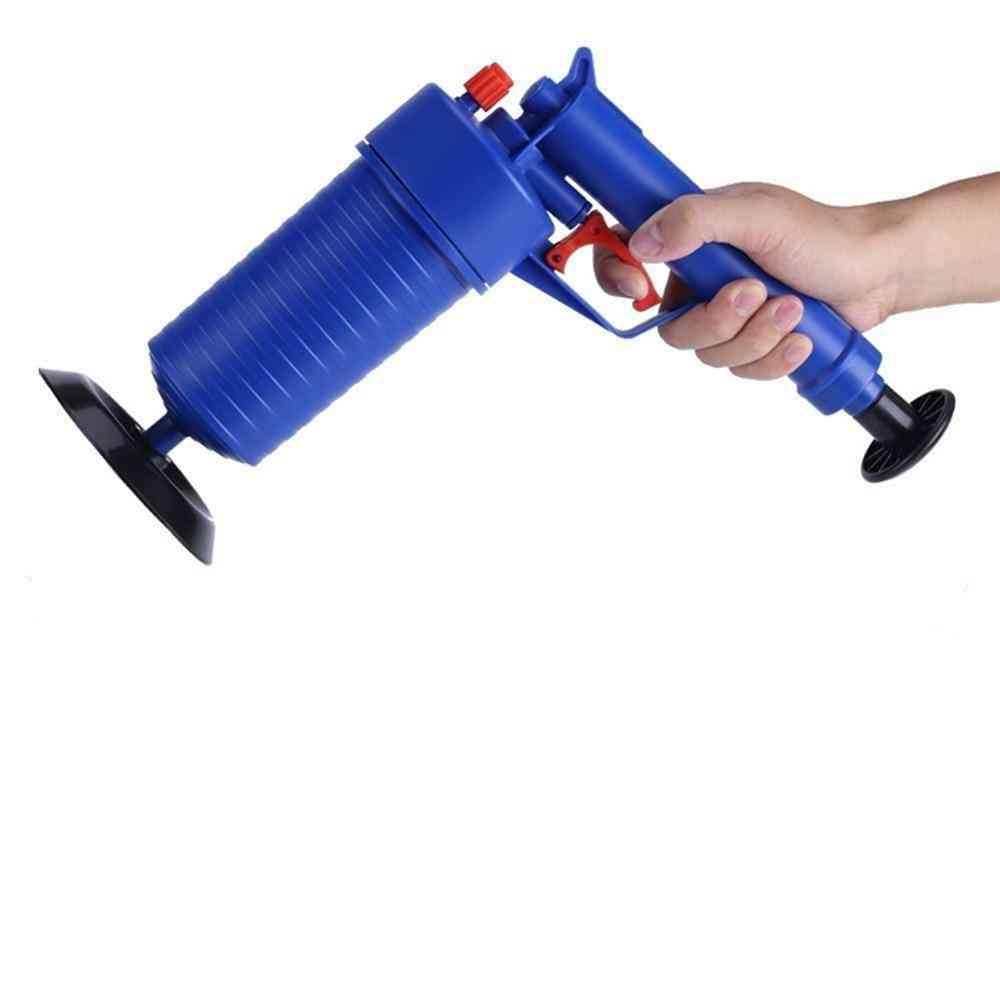 High Pressure Air Drain Blaster Sucker, Plunger, Filter For Sink Pipe