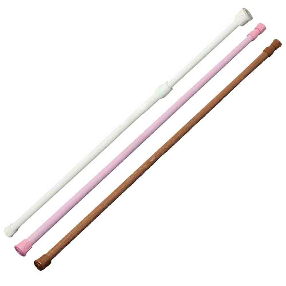 Extendable Telescopic Rods Poles For Window And Shower Curtain