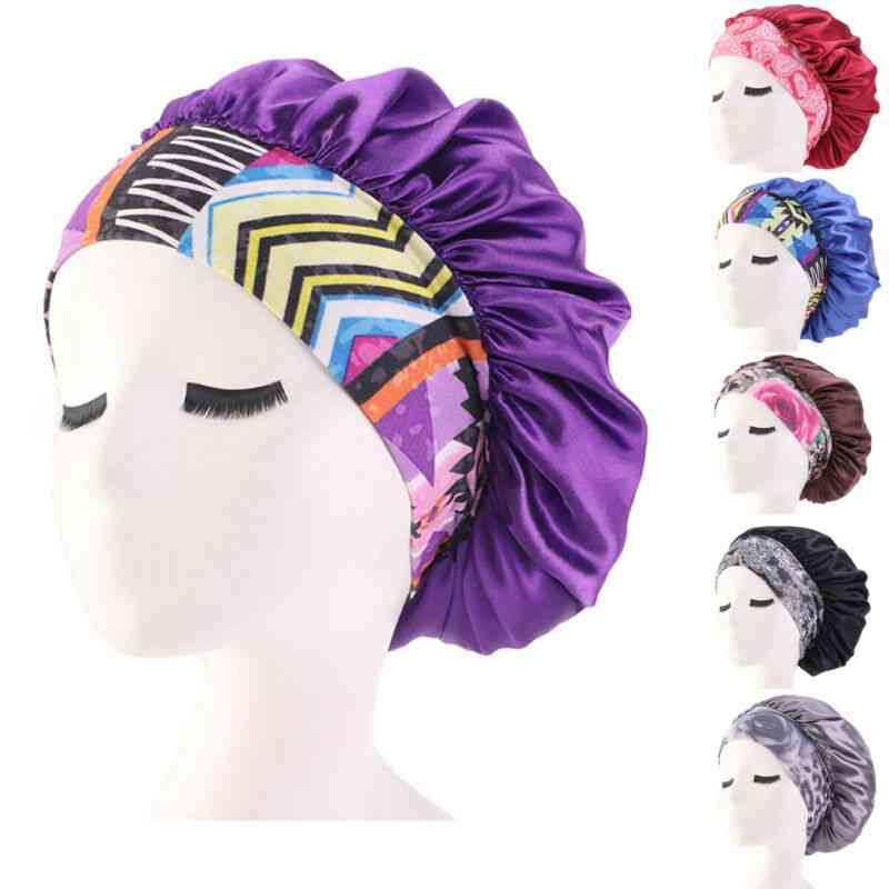 Satin Hair Cap For Women-athletic Look And Confortable Head Wear