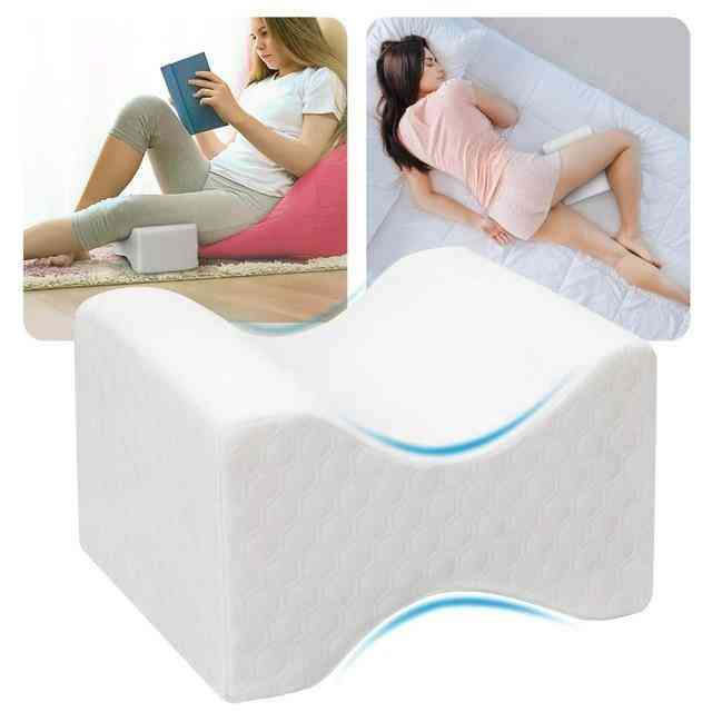 Legacy Leg Pillow For Side Sleepers - Pregnancy Memory Foam Orthopedic Pain Relief Pillow