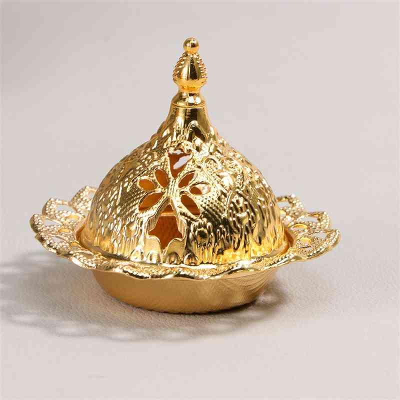 Vintage Incense Burner Porcelain Censer Holder For Home - Portable Teahouse Aromatherapy Furnace