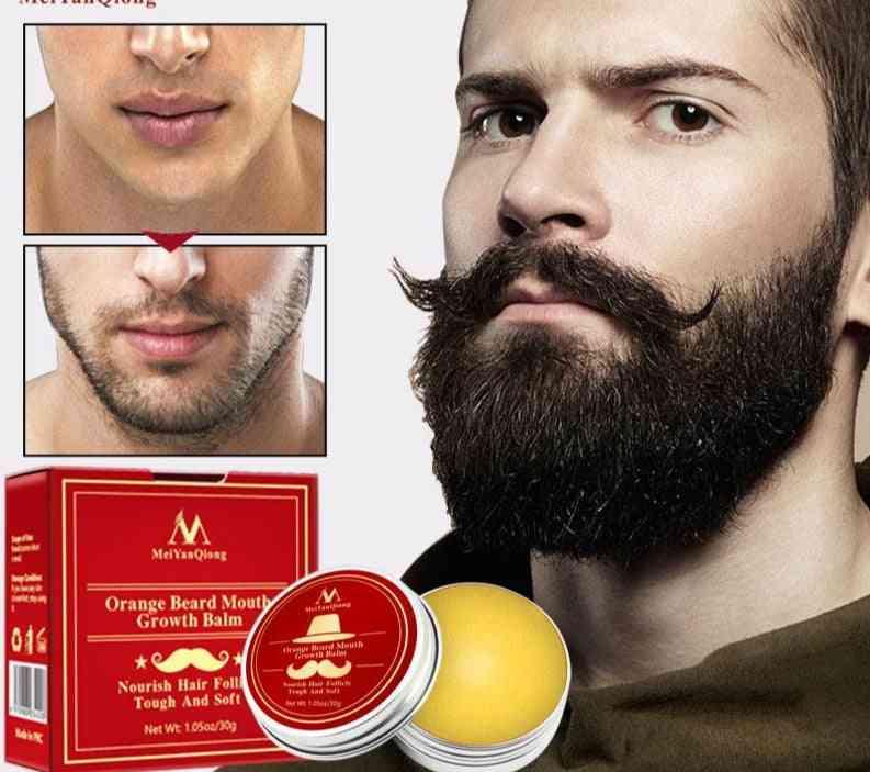 Natural And Organic Beard Balm For Growth