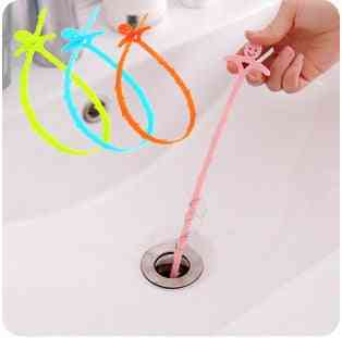 Toilet, Kitchen Sewer Pipe Cleaning Hooks/plungers