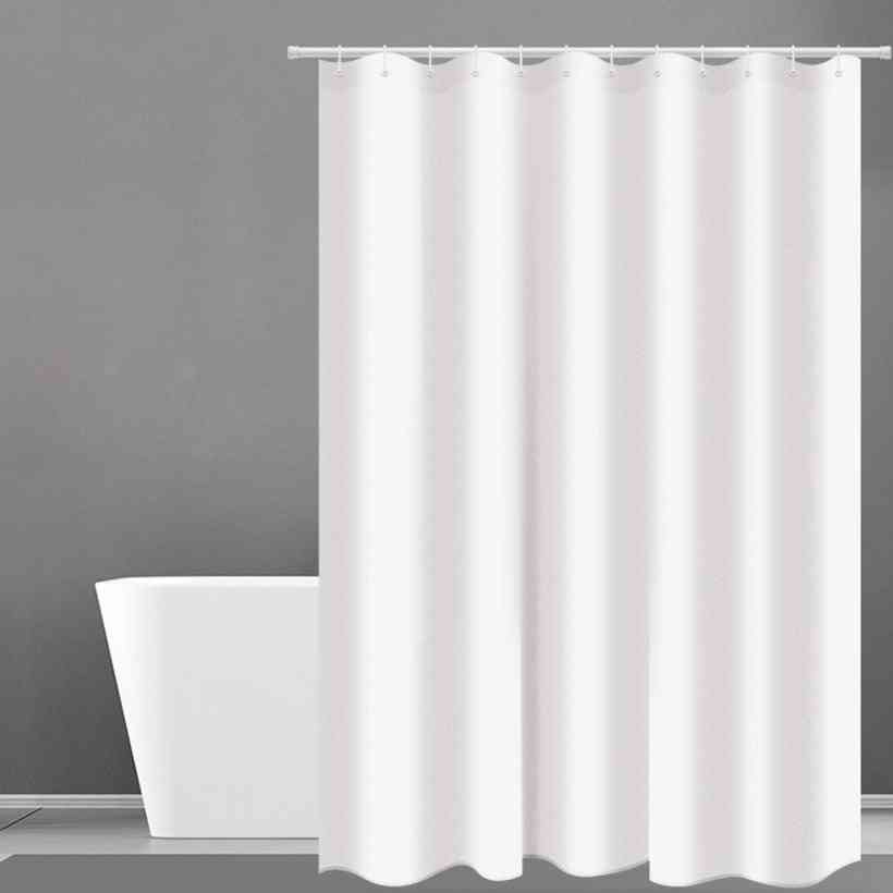 Heavy Weight, Waterproof And Mildew Free Shower Curtain