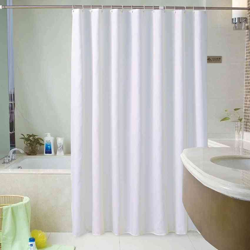 Waterproof, Thick And Quick Dry Polyester Shower Curtains