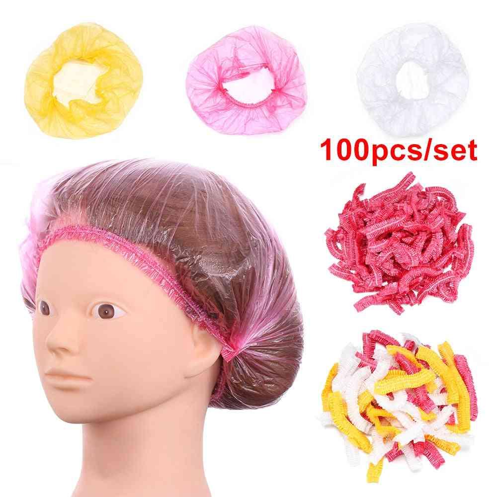 Waterproof Anti Dust Disposable Hair Spa Shower Cap For Men Women