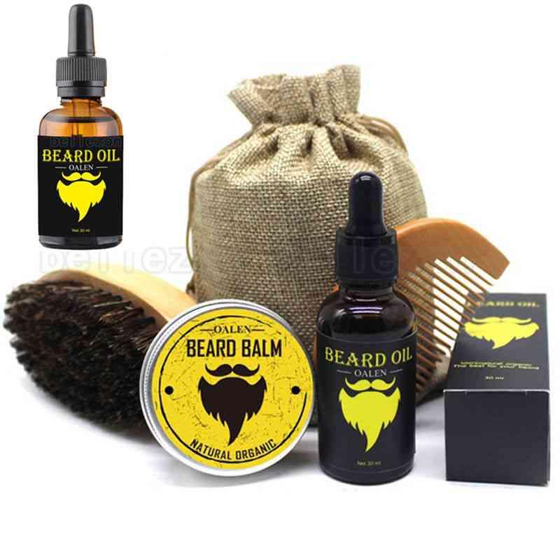 Beard Care Kit / Balm Oil & Comb