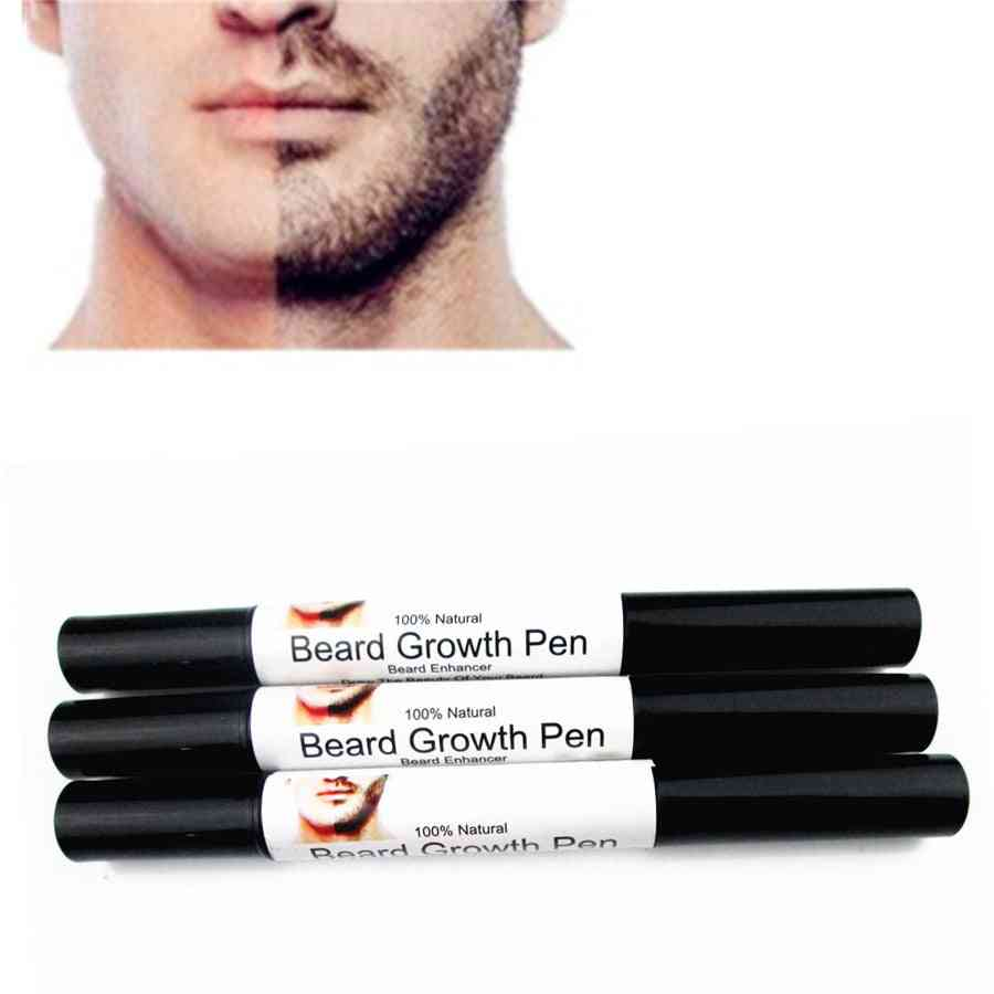 Fast Effective Face Beard Barba Whiskers Moustache Enhancer- Styling Spray