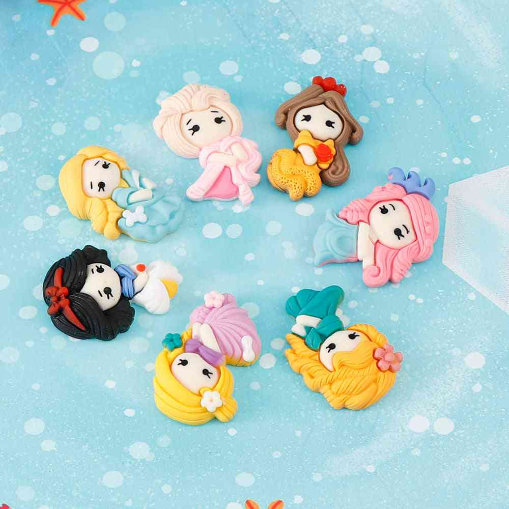 Mix Kawaii Girl Resin Cabochons Accessories For Diy Home Decoration