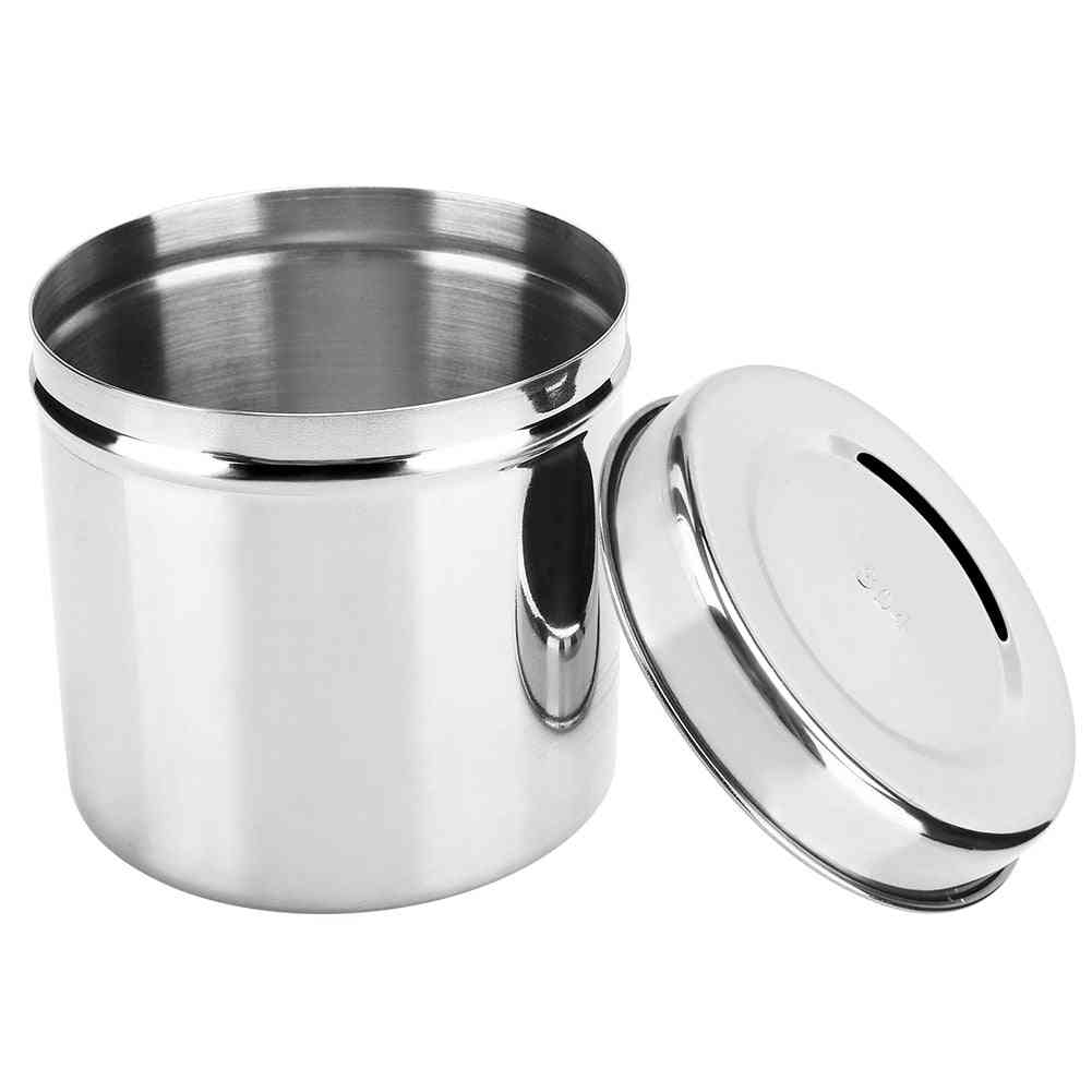 Stainless Steel Container For Beauty Salon, Hospitals, Clinics Etc.