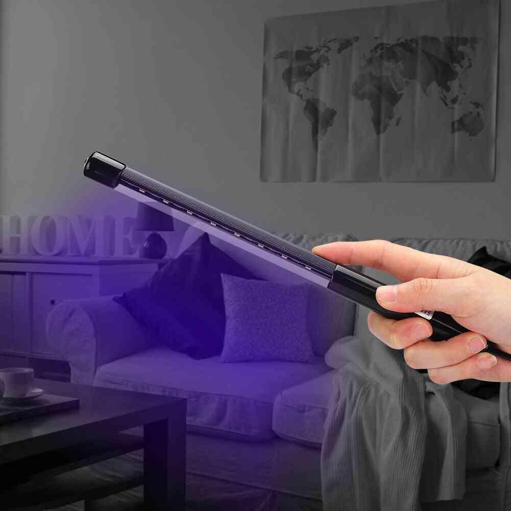 Usb Rechargeable, Handheld Ultraviolet Led Light
